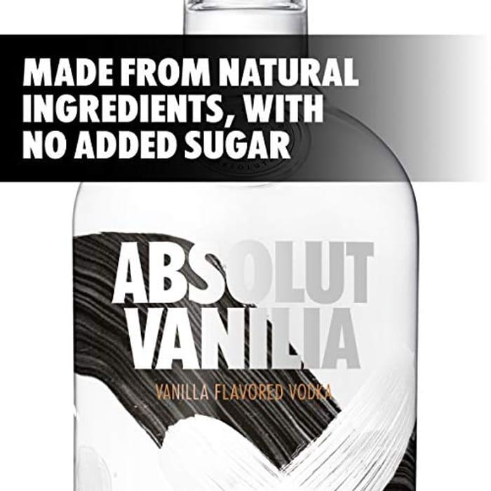 Absolut Vanilia Flavoured Vodka, 70 cl - Only £15!