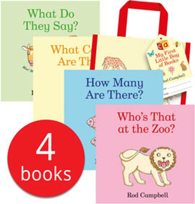 Rod Campbell's My First Little Bag of Books - 4 Books (Collection)