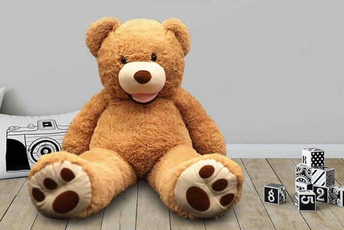 Giant 1m Plush Teddy