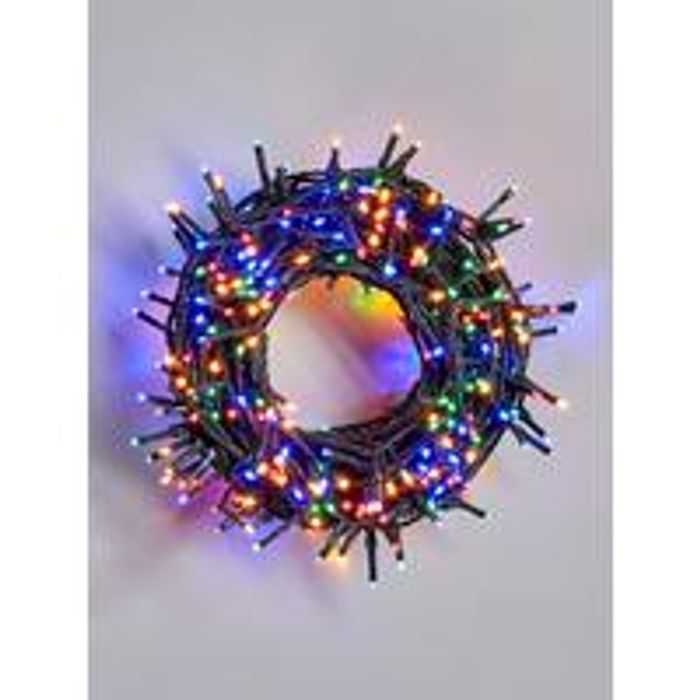500 Multi Function Sparkle Lights, In/outdoor + Timer