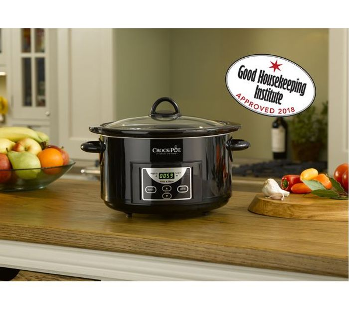*HALF PRICE* CROCK-POT Slow Cooker - Black