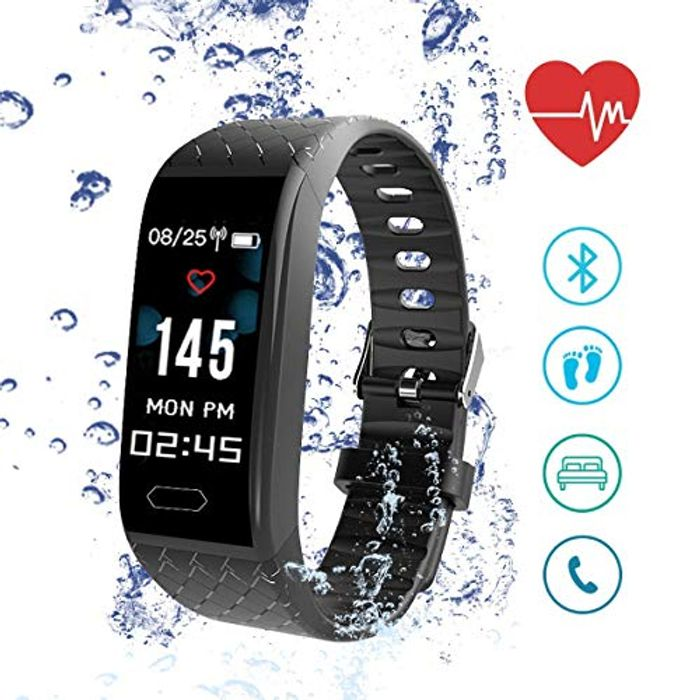 Smartwatch with Fitness, Activity and Sleep Tracker