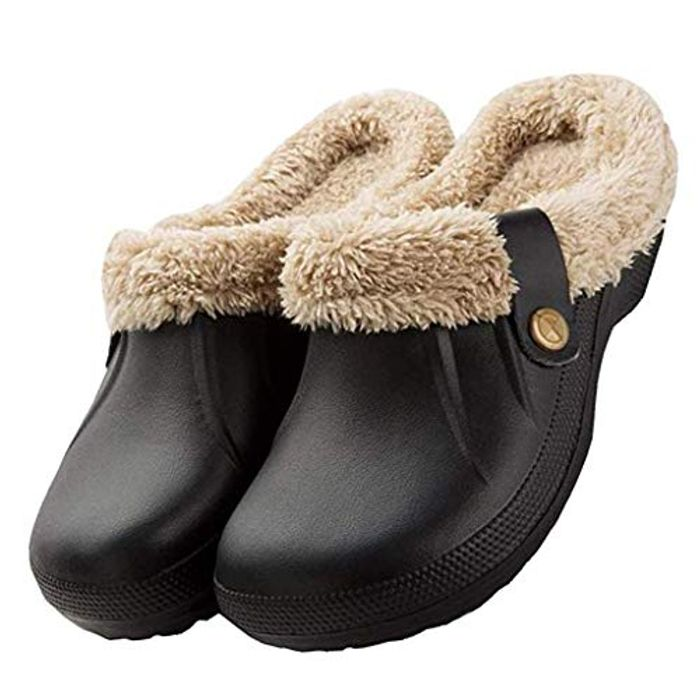 Plush & Warm Lined Slippers