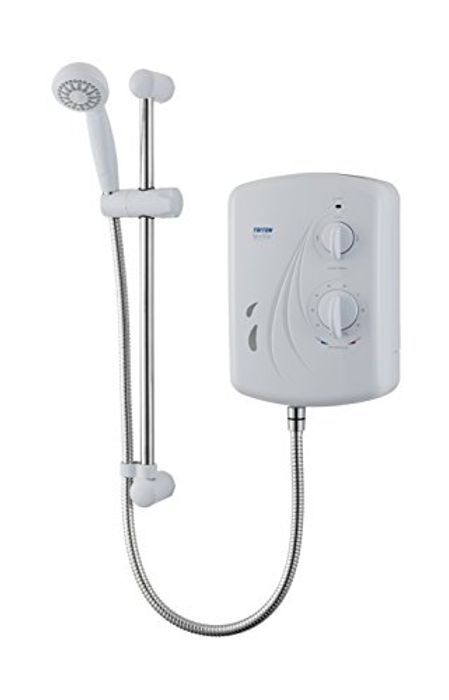Triton Showers MOSV01SG Seville Universal Electric Shower, 10.5 KW