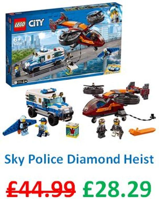 LEGO City - Sky Police Diamond Heist *4.8 STARS* (60209)