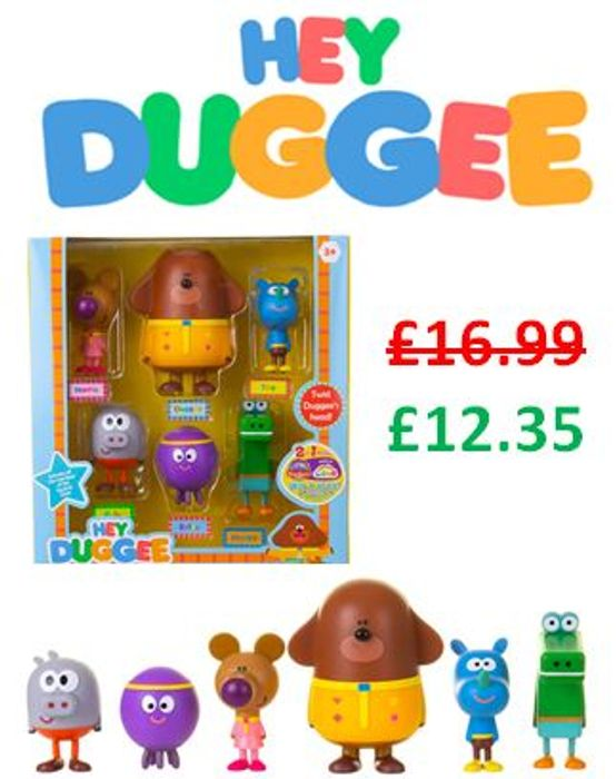 HEY DUGGEE Squirrel Figurine Set with DUGGEE *4.6 STARS*