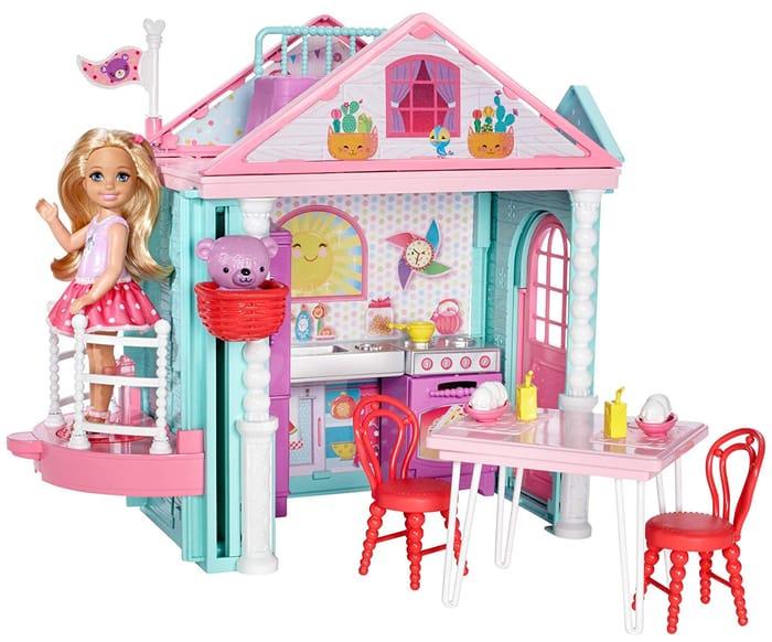 SAVE £7 - Barbie Club Chelsea Playhouse Set