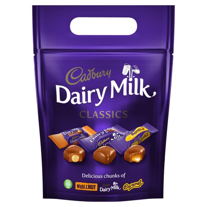 Cadbury Dairy Milk Mixed Chunk Pouch 372G