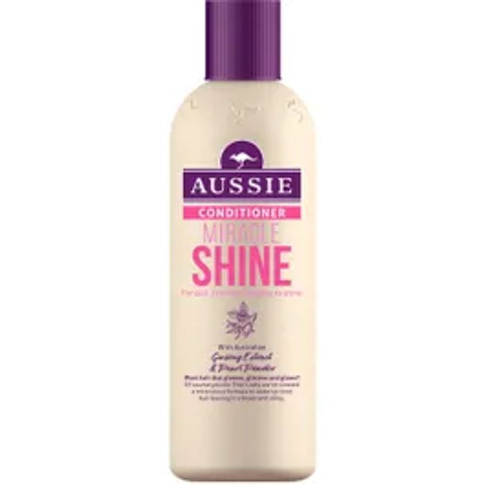 Cheap Aussie Conditioner Miracle Shine 250ml, reduced by £3.99!