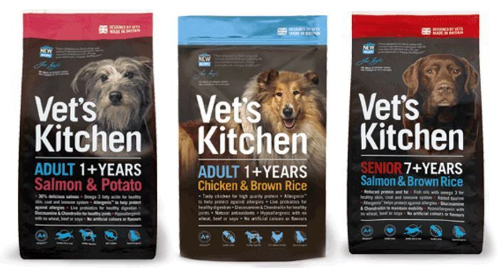 Free Vets Kitchen Dog and Cat Food Samples - You Can Select up to 4