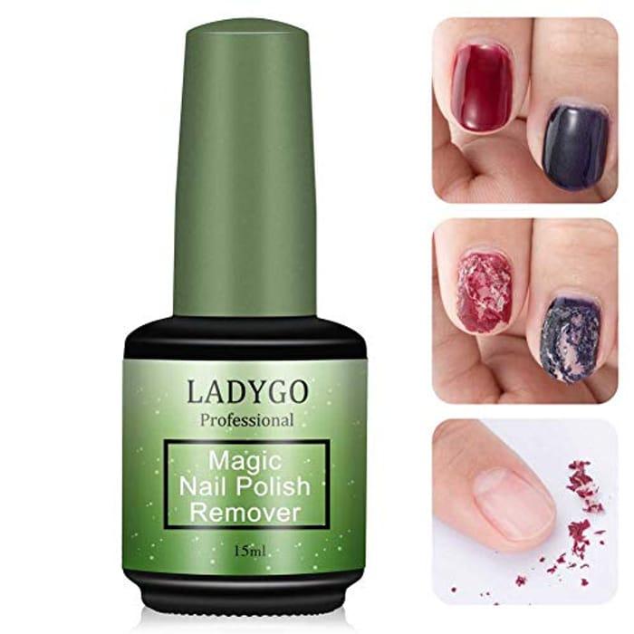 Ladygo Magic Nail Polish Remover - 50% Off