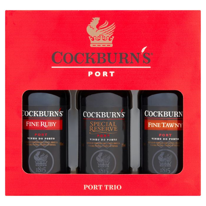 Cockburns Port Trio Gift Set ONLY £5