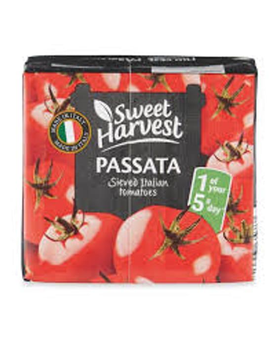 Passata for 32p at Aldi