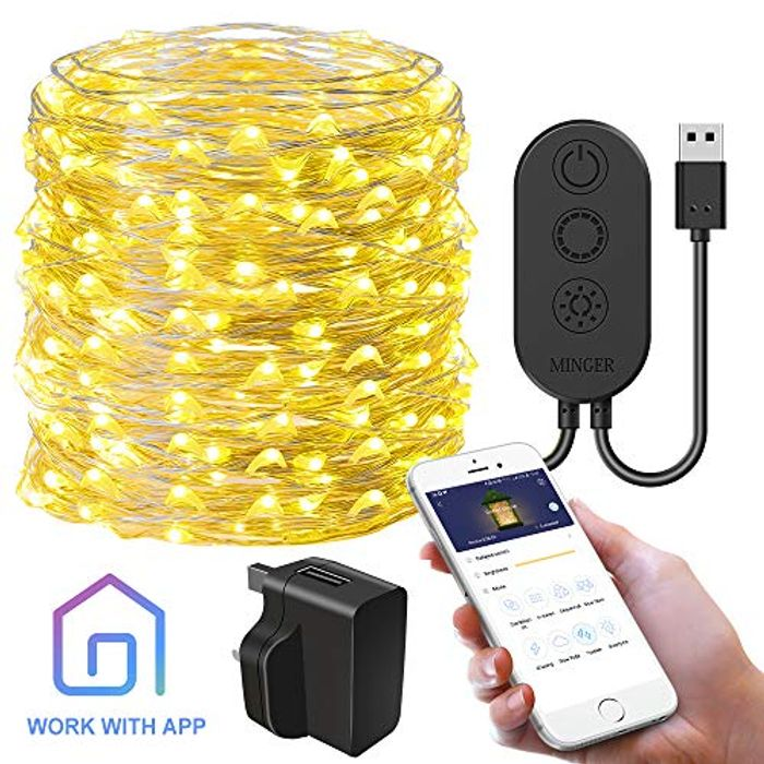 Cyber Week - 45%Off Starry String Light with APP Control, Govee 10m/33ft