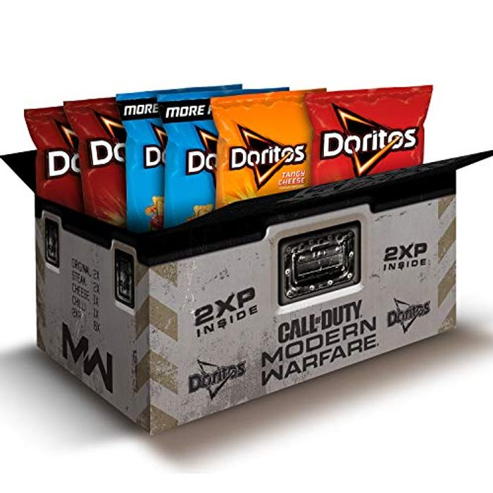 Doritos Call of Duty: Modern Warfare Snacks Box Includes 2XP Codes