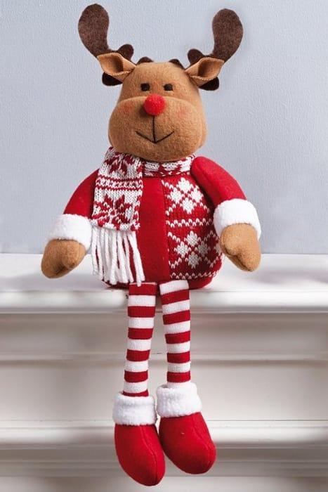 Reindeer Shelf Sitter - Save £3.00