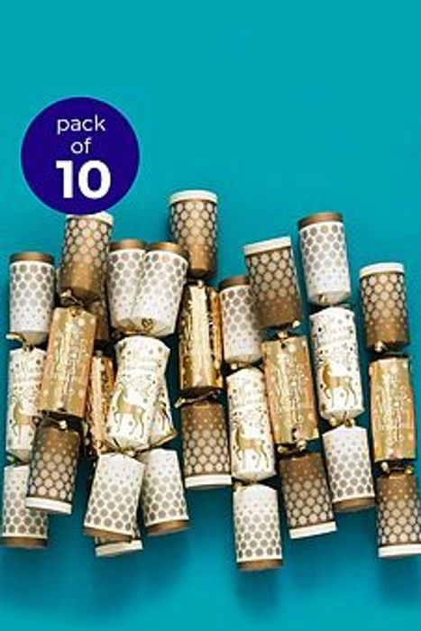 10 Nutcracker and Tree Christmas Crackers
