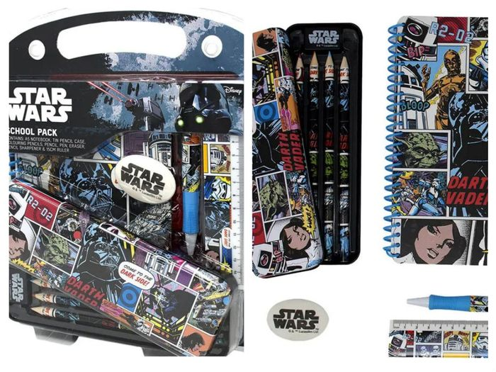 Star Wars School Pack *ONLY £3 but £9 on Amazon!