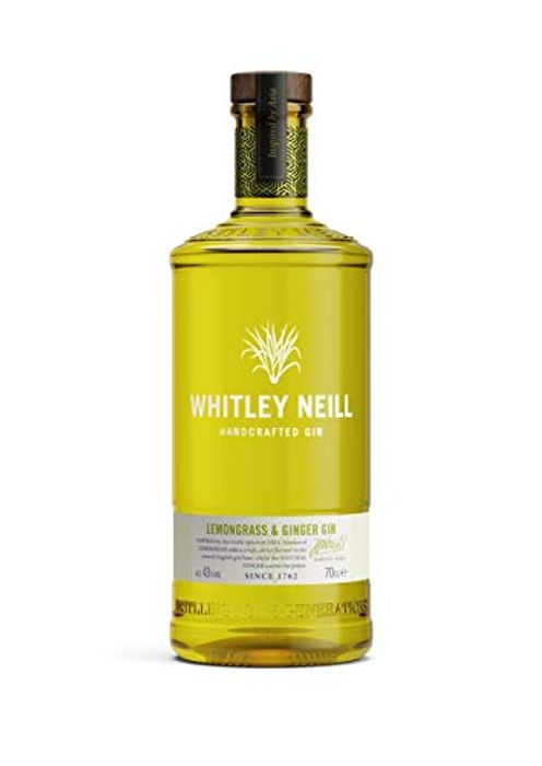 Whitley Neill Lemongrass & Ginger Gin, 70 Cl