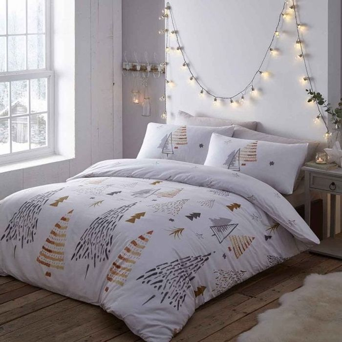 Christmas Trees Duvet Set