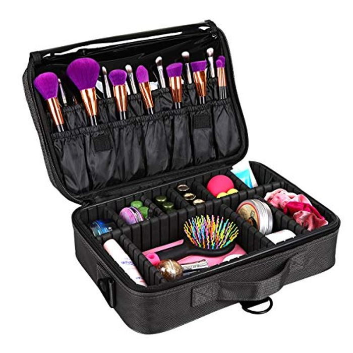Makeup Bag 3 Layers 35% Off