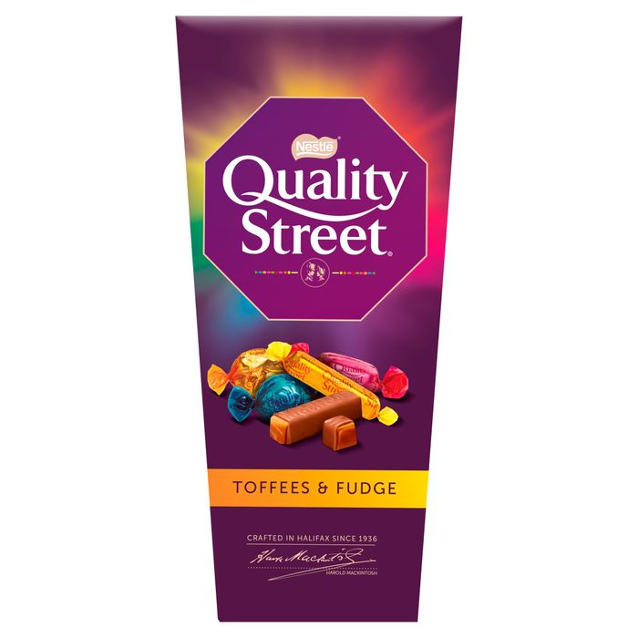 Quality Street Toffee & Fudge 240G Fruit Cremes Also Available