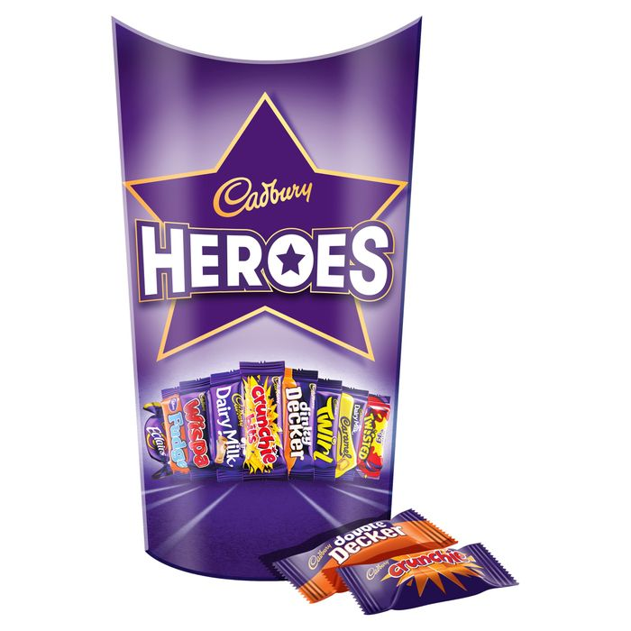 Cadbury Heroes 290G at Tesco Down From £3 to £2