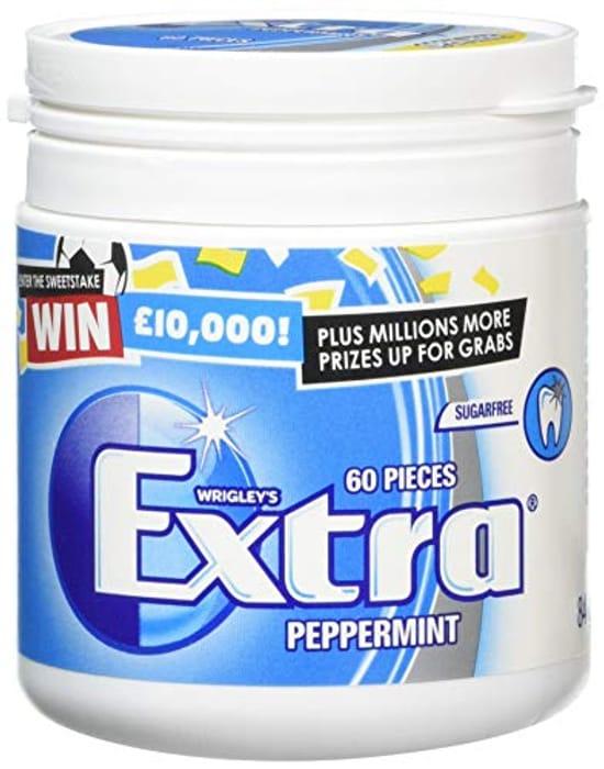 Wrigley's Extra Peppermint Sugarfree Gum 60 Pieces