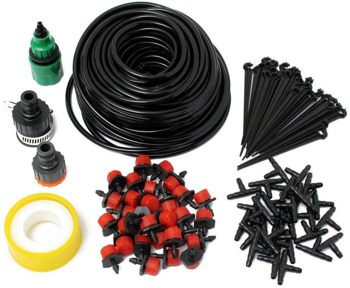 Up to 50% off DIY Micro Flow Drip Watering Irrigation Kits System