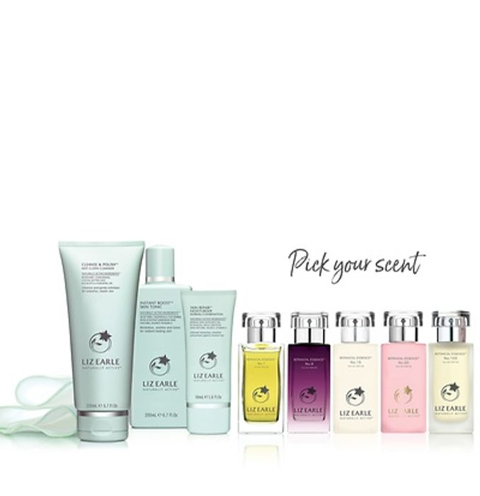 Liz Earle Your Daily Routine with Skin Repair + Free Fragrance worth £54