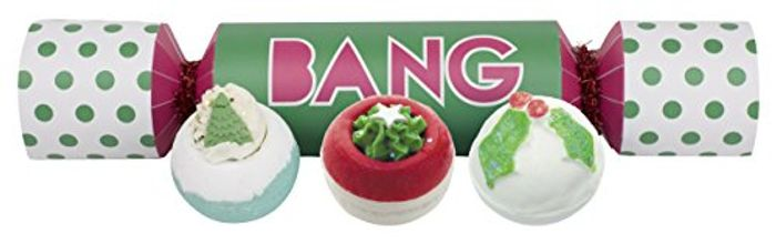 Bomb Cosmetics Bang Cracker Handmade Bath Blaster Bath Bomb Gift Pack