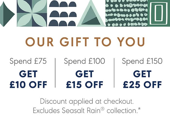 Save up to £25 | Festive Dressing & Luxurious Gifts