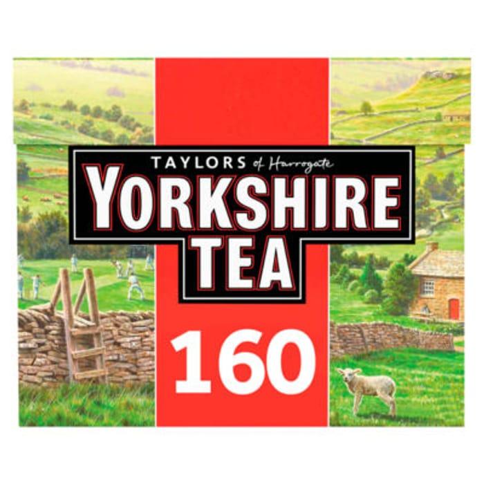 Taylors of Harrogate Yorkshire 160 Tea Bags - 44% Off!