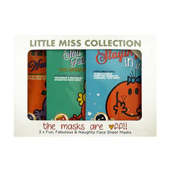 Cheap Little Miss Trio Sheet Face Mask Set - Save £9!