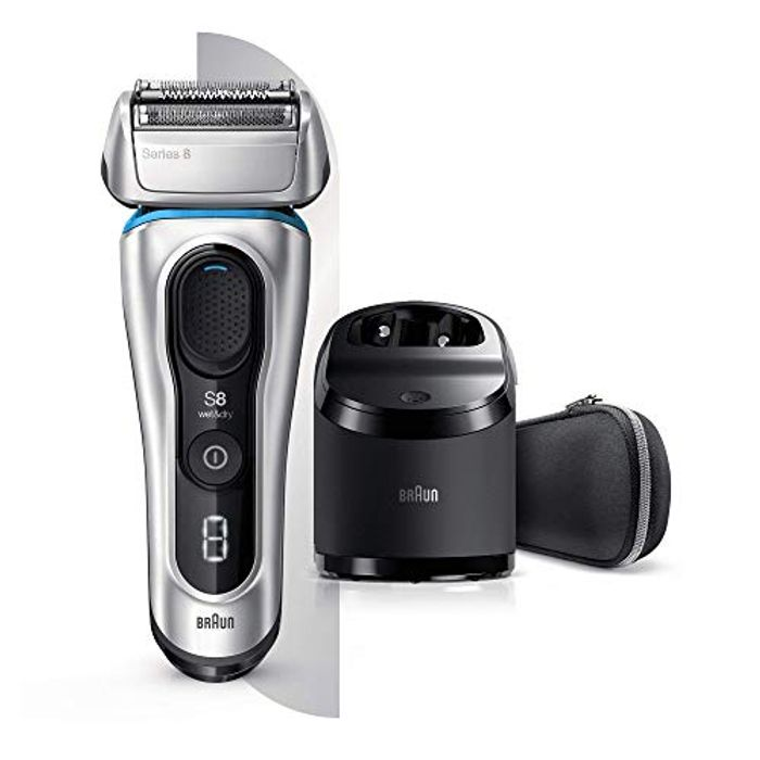 Braun Series 8 next Generation, Electric Shaver, Rechargeable and Cordless Razor