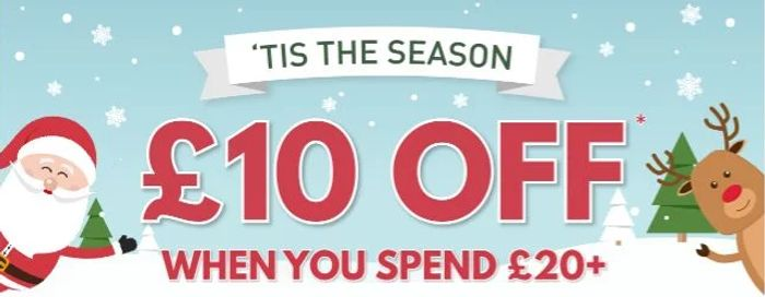 £10 off Orders with £20 or More Spend at Buyagift