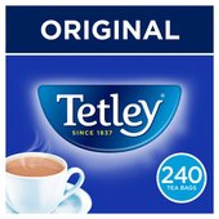 Tetley Original Tea Bags X240 - Save £2!
