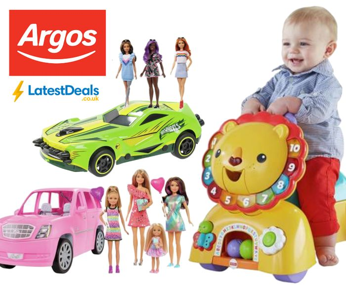 ARGOS Extra 20% off ALL Barbie, Hot Wheels & Fisher Price - Includes Offers!