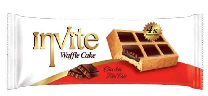 Invite Chocolate Waffle Cake 200g *ONLY £1 Something Different for Christmas??