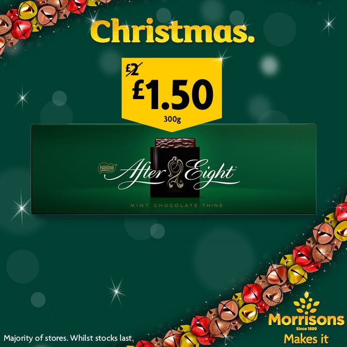 After Eight Mint Chocolate Thins 300g - Save £0.50!