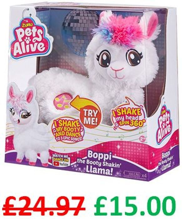 Boppi - The Booty Shakin Llama - A CHRISTMAS 2019 TOP TOY