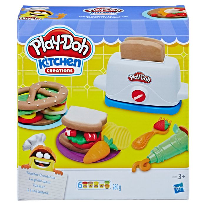 1/2 Price Play Doh Toaster Creations