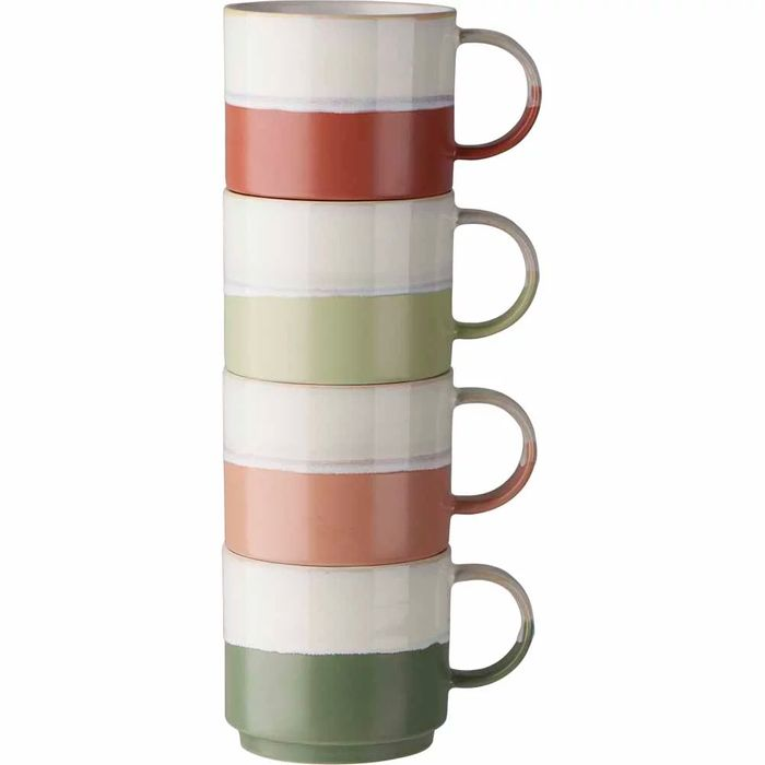 Wilko Stacking Mugs Discovery Set of 4