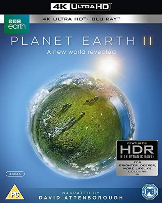Best Ever Price! Planet Earth II Box Set 4K UHD Blu-Ray