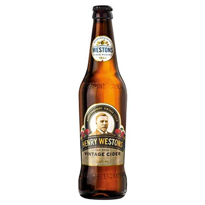 Best Price! Westons Henry Vintage Cider, 12 X 500 Ml