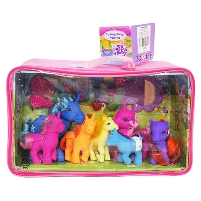Wonder Pony Land Pretty Pony Family