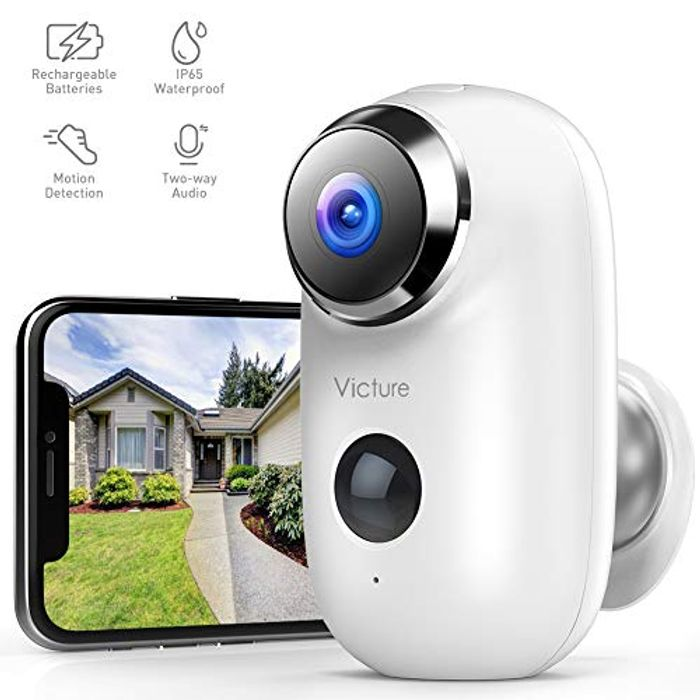Stack Deal-1080P Outdoor Rechargeable Battery Security Camera