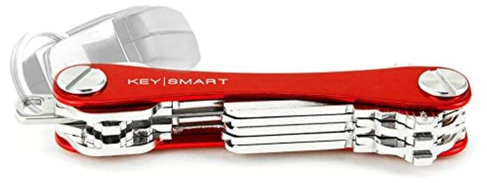 KeySmart - Compact Key Holder and Keychain Organizer at Amazon