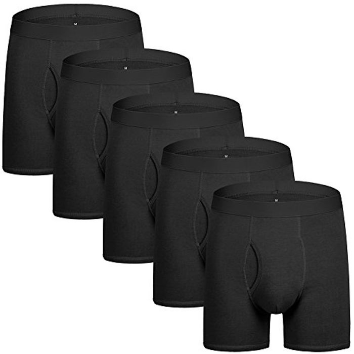 Boxers Shorts Mens Underwear Boxers for Men Pack of 5, Men's Trunk