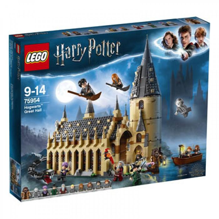 £18 off & FREE DELIVERY! LEGO HARRY POTTER - Hogwarts Great Hall (75954)